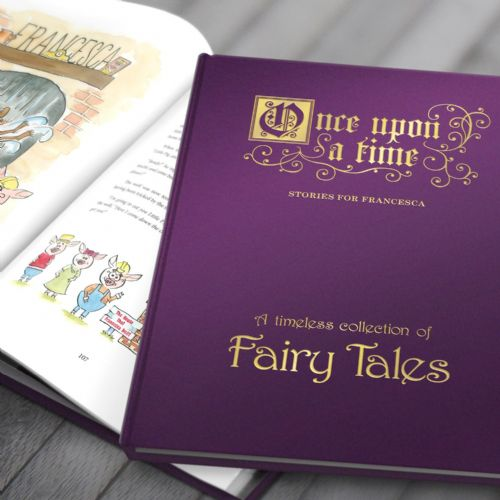Personalised Fairy Tales Collection Premium Book For Children in Gift Box